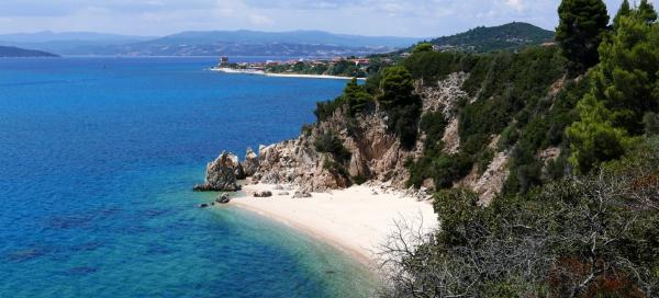 The most beautiful places in Chalkidiki Athos