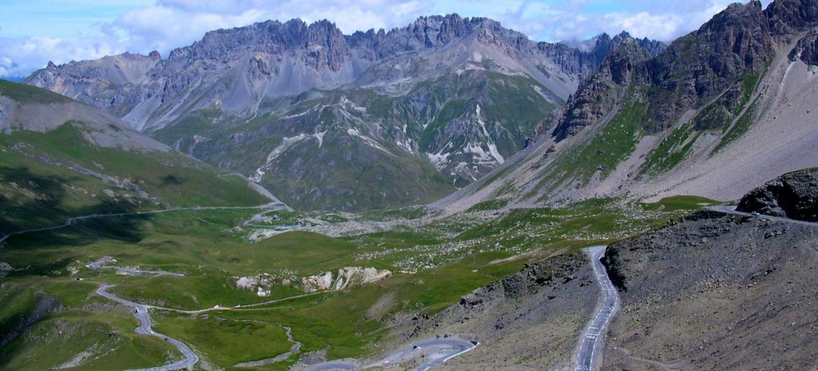 The highest road passes in France