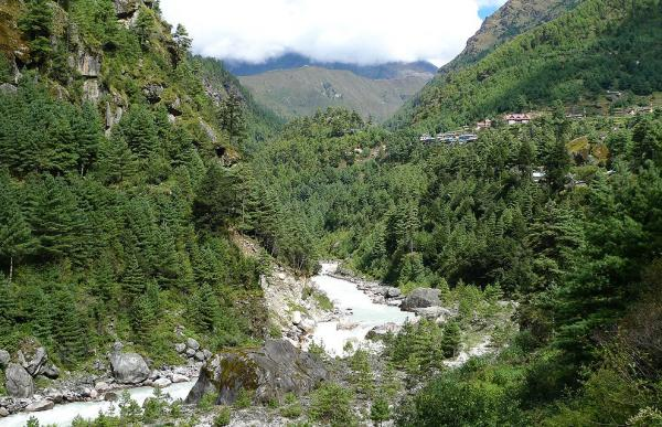 Valley of Dudh Khosi