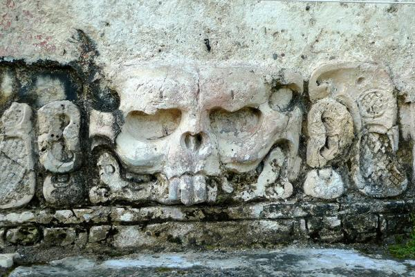 Skull in the Temple of the Skull