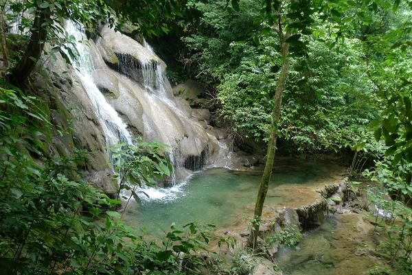 Waterfall in Palenque