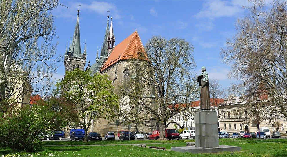 Monument of Jan Hus