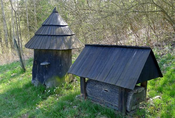 Historical bee hives