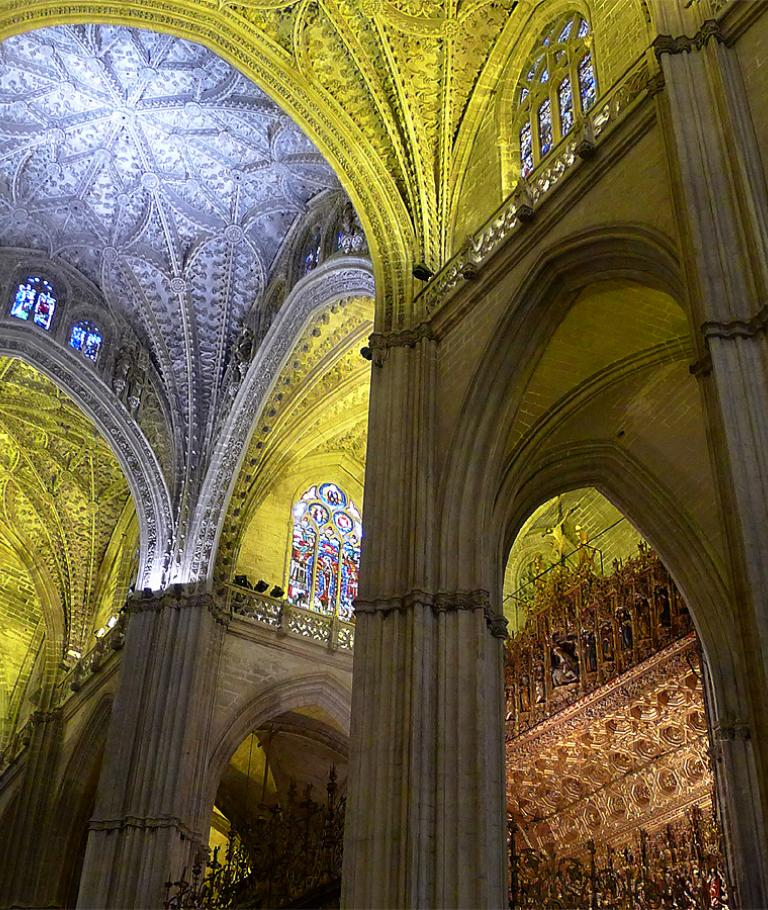 St. Mary's Cathedral in Seville