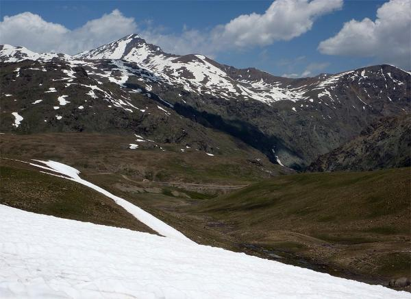 Way back to Deosai Top