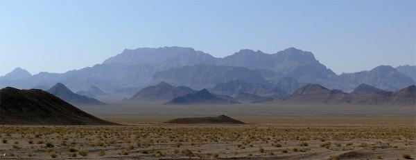 Mountainous desert