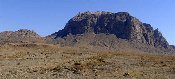 Iranian table mountains
