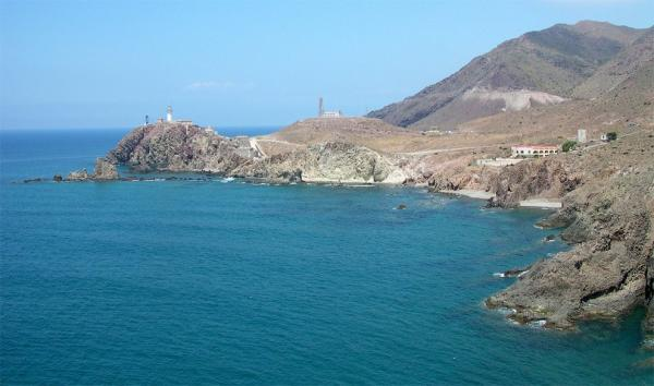 View from Punta Baja to the lighthouse