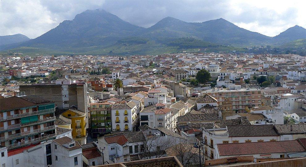 View of Alcaudete