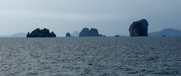 Islets in the Andaman Sea