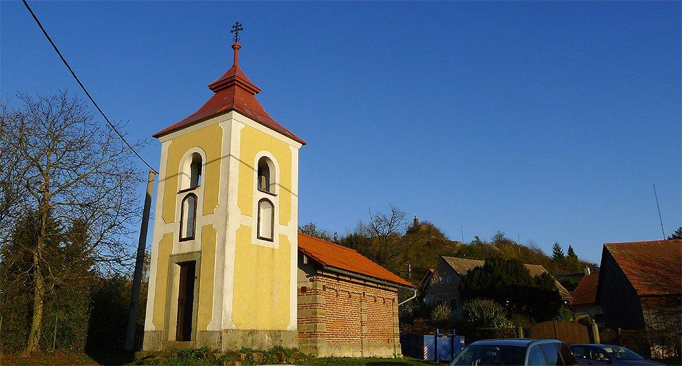 Small Bell Tower in village Podhradí