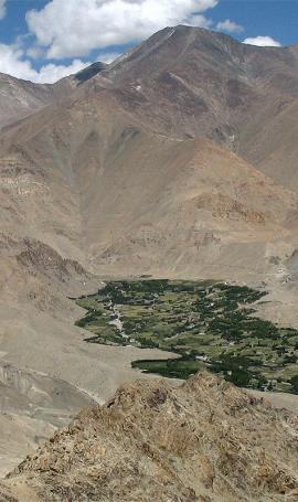 Hiking around Leh