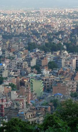 Travel through Kathmandu valley
