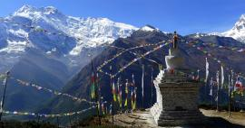 Ascent to Chorten of Ghyar