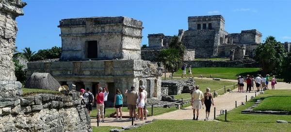 Visit of Fortress in Tulum