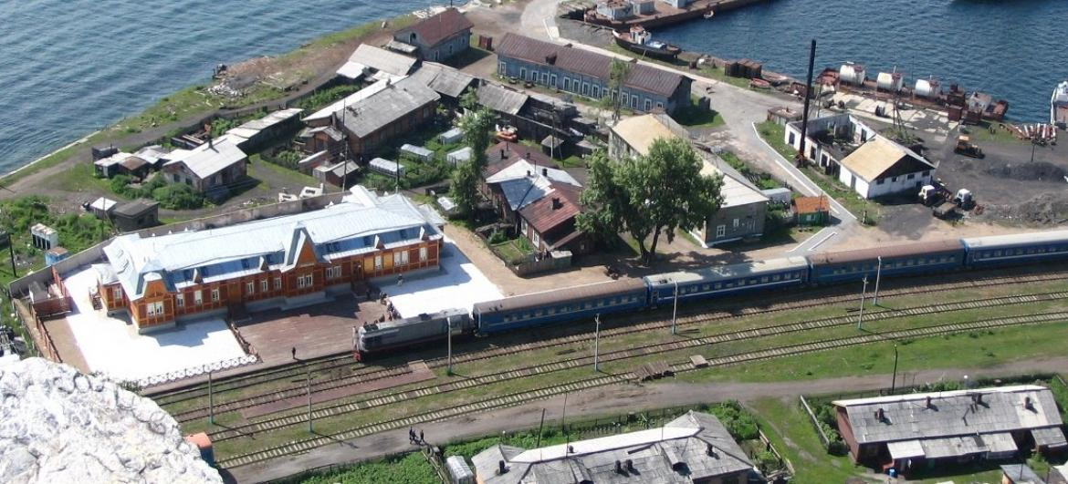 Train Sljudjanka - Port Bajkal