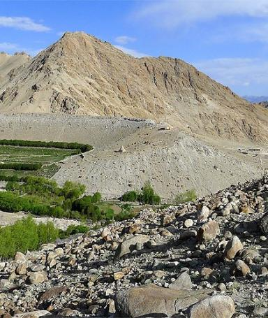 Hike to North oasis of Leh