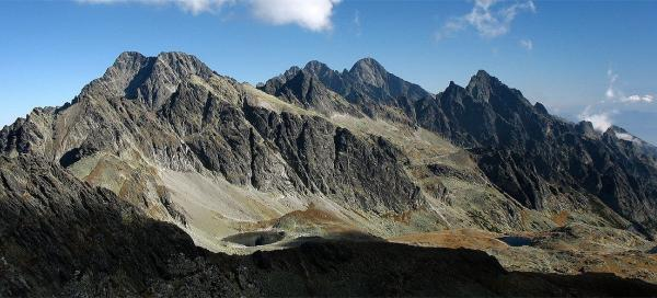 Hike across Prielom pass to the Polish ridge
