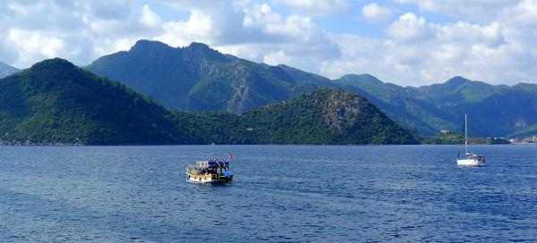 Boat trip from Marmaris I.
