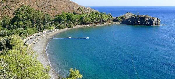 Swimming in beaches in Mesudiye