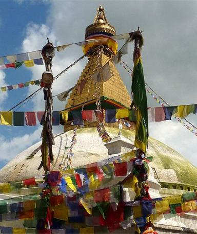 Visit of Boudhanath
